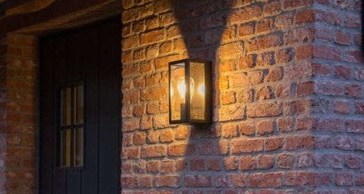 Front door wall lamp PSM Lighting
